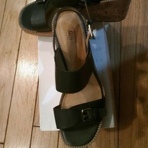 G. H. Bass Size 10M Faye Wedges Women's Shoes